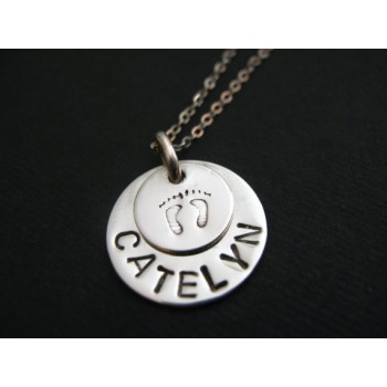 Gift Necklace For Mum Who Is Expecting A Baby Boy