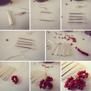 8 Tips on how to make earrings and ready DIY pieces in minutes