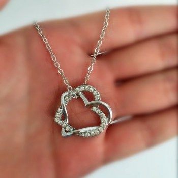 Buy hand on heart jewelry and matching Necklace for your lady love