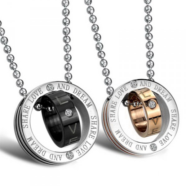774bd6225f Are you a Couple? Buy his and hers necklace sets for your sweetheart!