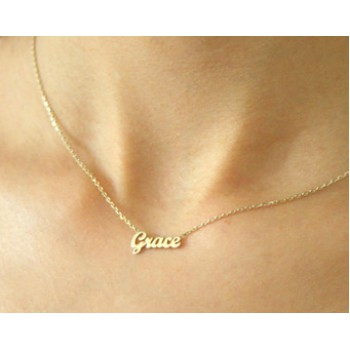 Buy a letter necklace or a necklace with name for your beloved