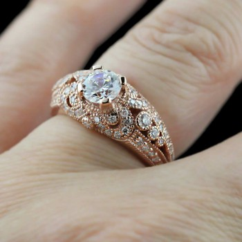 Best cool, unique and nontraditional engagement ring ideas for you