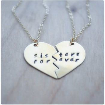 Buy sister necklaces and mother and daughter jewellery online