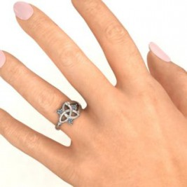 Siobhán Celtic Knot Ring