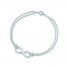Infinity Bracelet With Double Chain