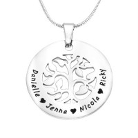 Personalised BFS Family Tree Necklace