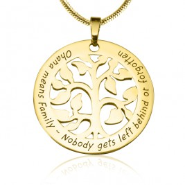 Personalised Ohana Tree - 18ct Gold Plated *Limited Edition