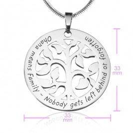 Personalised Ohana Tree - Sterling Silver *Limited Edition