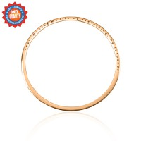 Personalised Classic Bangle - 18ct Rose Gold Plated