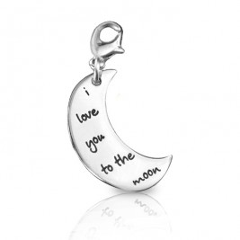 Personalised Moon Charm
