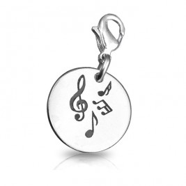 Personalised Music Charm