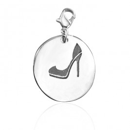 Personalised Shoe Lover Charm