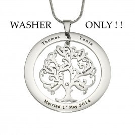 Personalised ADDITIONAL Tree of My Life WASHER ONLY