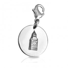 Personalised Big Ben Tower Clock Charm