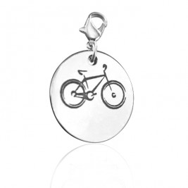 Personalised Bike Charm