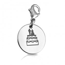 Personalised Bride n Groom Charm