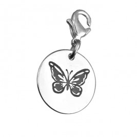 Personalised Butterfly Charm