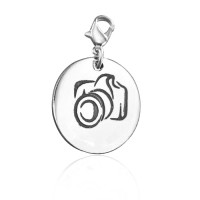 Personalised Camera Charm