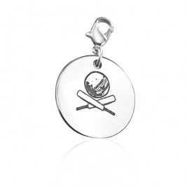 Personalised Cricket Charm