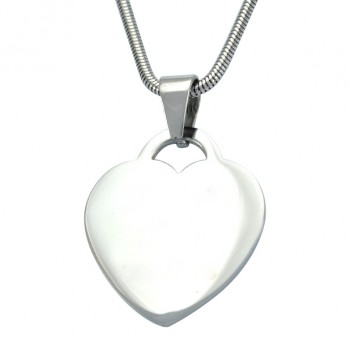 Personalised Heart of Neatie Necklace