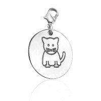 Personalised Kitty Charm