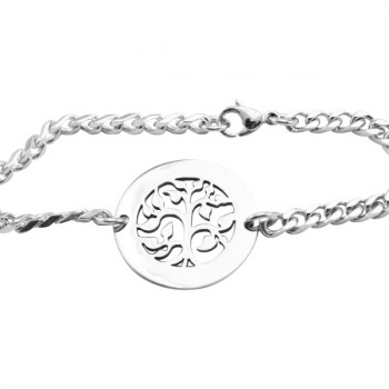 Personalised My Tree Bracelet/Anklet - Sterling Silver