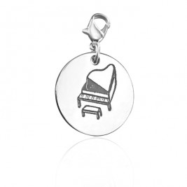Personalised Piano Charm