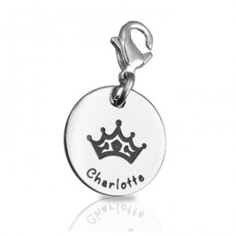 Personalised Princess Charm