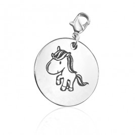 Personalised Unicorn Charm