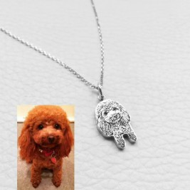 Pet Jewellery, Multiple Pet Photo Pendant, Cat and Dog Necklace,Dog Picture Necklace, Valentine's Gift, Pet Memorial for Dog Lovers, Photo Pendant