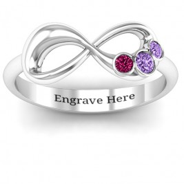 Now and Forever  Infinity Ring