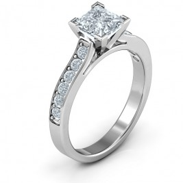 Janelle Princess Cut Ring