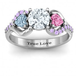 Blast of Love Ring with Accents