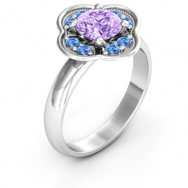 Blossoming Love Engagement Ring