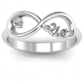 Celebrate 21 Infinity Ring