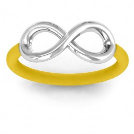 Classic Infinity Ring with Changeable Bands