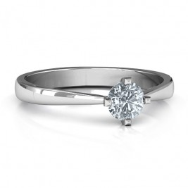 Classic Round Solitaire Ring