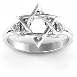 Classic Star of David Ring