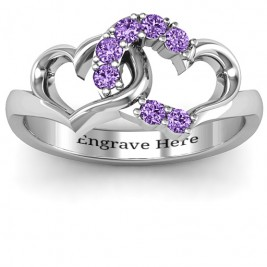 Connecting Hearts Ring