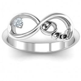 Dad Infinity Ring