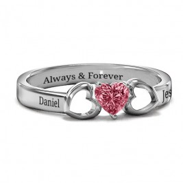 Darling Heart Wraparound Ring