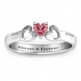 Darling Heart Wraparound Ring