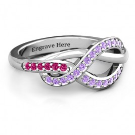 Delicacy Infinity Ring