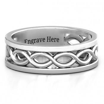 Diadem Infinity Men's Ring