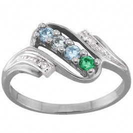 Diamond Accent 2-6 Stones Ring