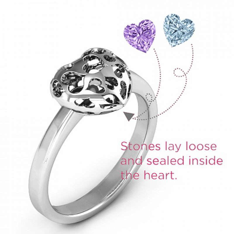 Caged Mothers Ring