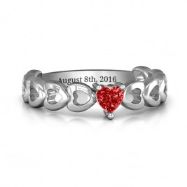 Enchanting Love Promise Ring