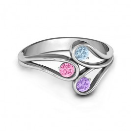 Eternal Elegance Three-Stone Ring