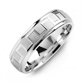 Eternal Greek Key Men's Ring