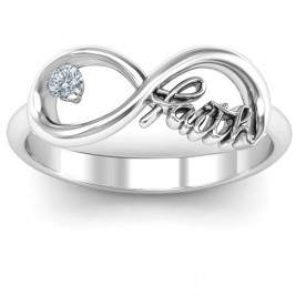 Faith Infinity Ring
